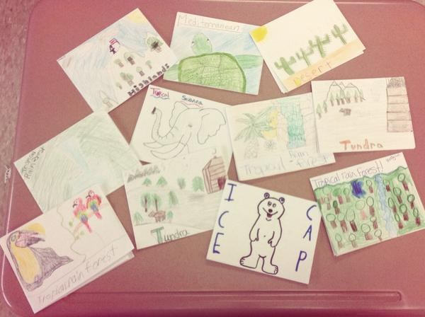 Geography students are ready to send their climate postcards