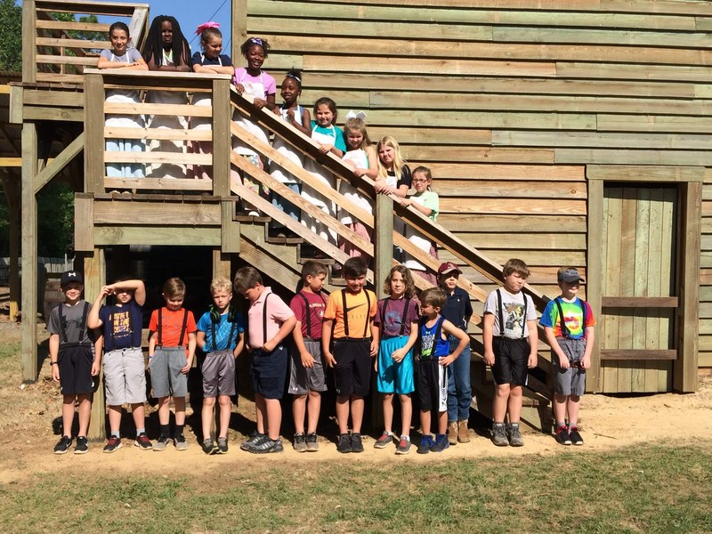 BES Gifted Students tour Georgia's Museum of Agriculture and Historic Village Featured Photo
