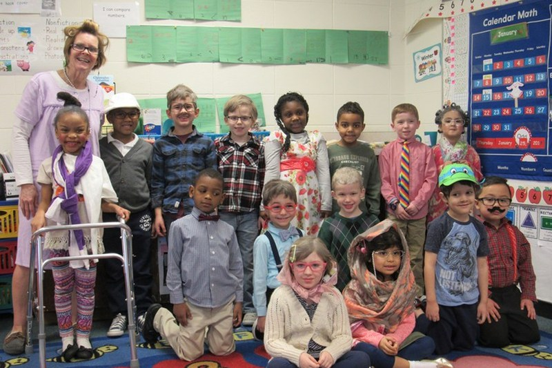 NW Students Celebrate the 100th Day of School Thumbnail Image