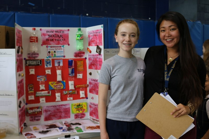 Annual SJS Middle School Science Fair Takes Place Thumbnail Image
