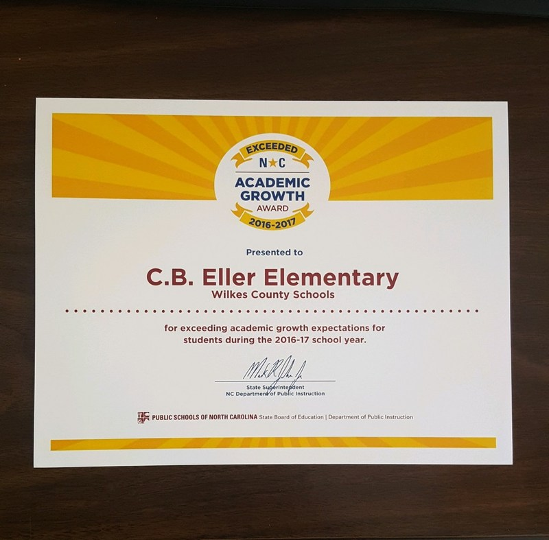 CB Eller School Exceeds Expectations Thumbnail Image