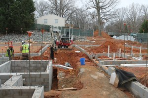 January 12, 2016 - foundation is laid
