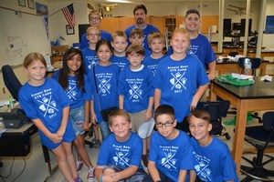 Brewer High School Robotics Camp participants