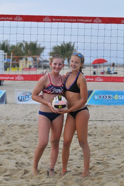 Point Pleasant Beach N J Olivia Szyszkiewicz Combined With Another Player To Capture A High Level Championship At Miller Lite Tour