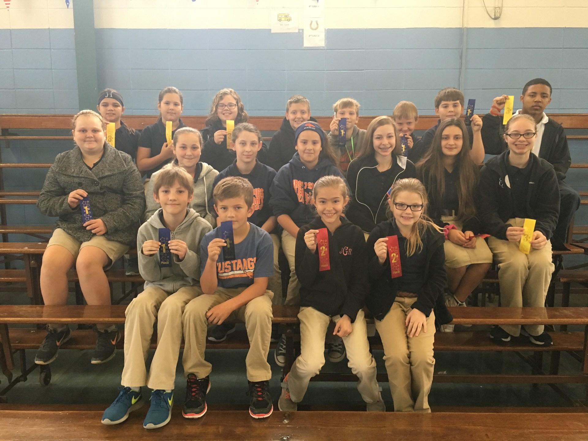 Group pic of S.S. Fair Winners