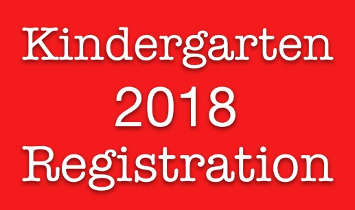 kindergarten registration 2018