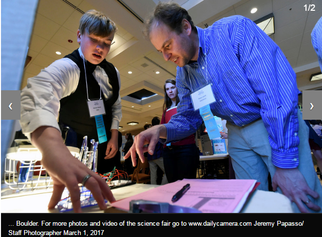 Flagstaff Academy Competes in Corden Pharma Regional STEM Fair Thumbnail Image