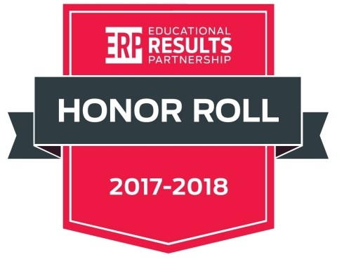 Champions Academy named an Honor Roll School for the 2017-2018 Texas Honor Roll