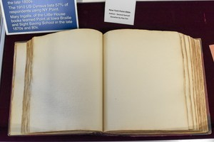 view of the book open to two facing pages