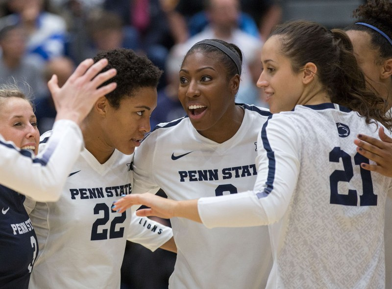 Nia Reed'14 Shines on Penn State Volleyball Team Thumbnail Image