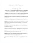 AUSD School Board Resolution Regarding School Safety Thumbnail Image