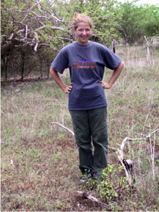 Botany fieldwork in Central America during college.