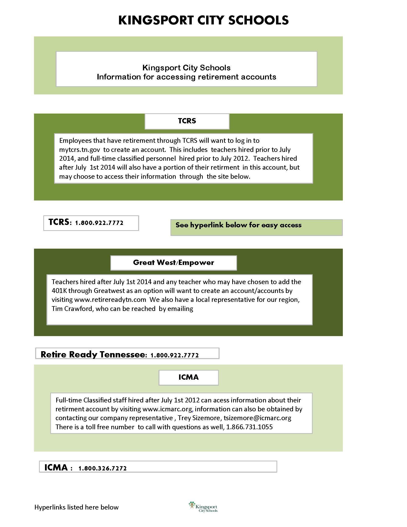 KCS TCRS graphic