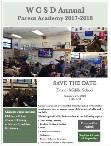 Click here for Parent Academy information! Featured Photo