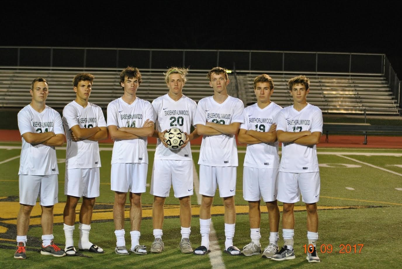 Boys Seniors 2017 Season