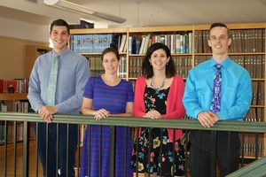 Four new teachers joined the OLSH staff.