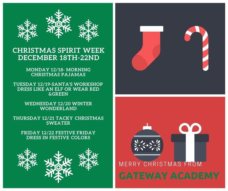 Christmas Spirit Week