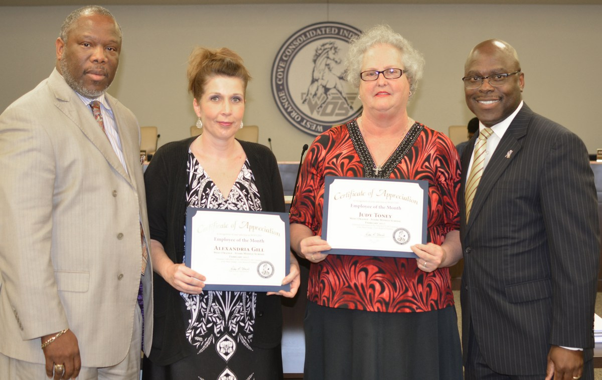 Life Skills staff recognized as Employees of the Month