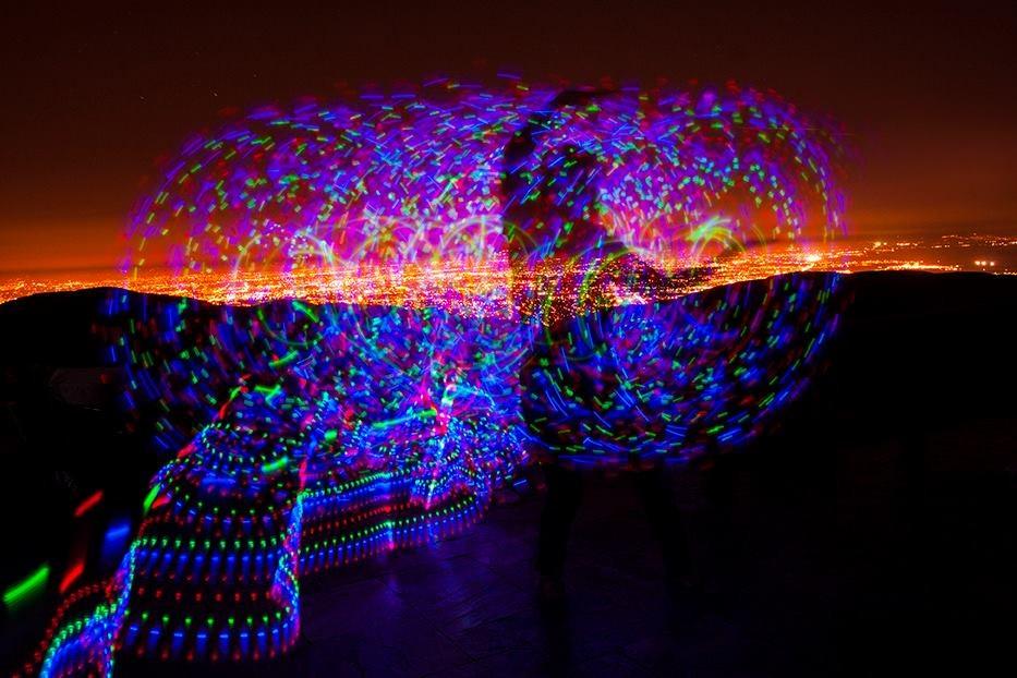 Image of Artwork called Dance of Light