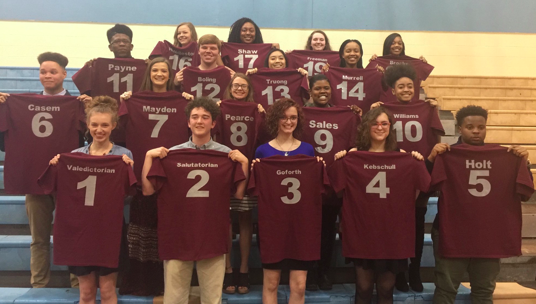 Top Twenty Named at Fayette-Ware Comprehensive High School Thumbnail Image