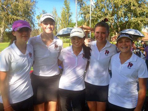 PVHS Girls' Golf Team