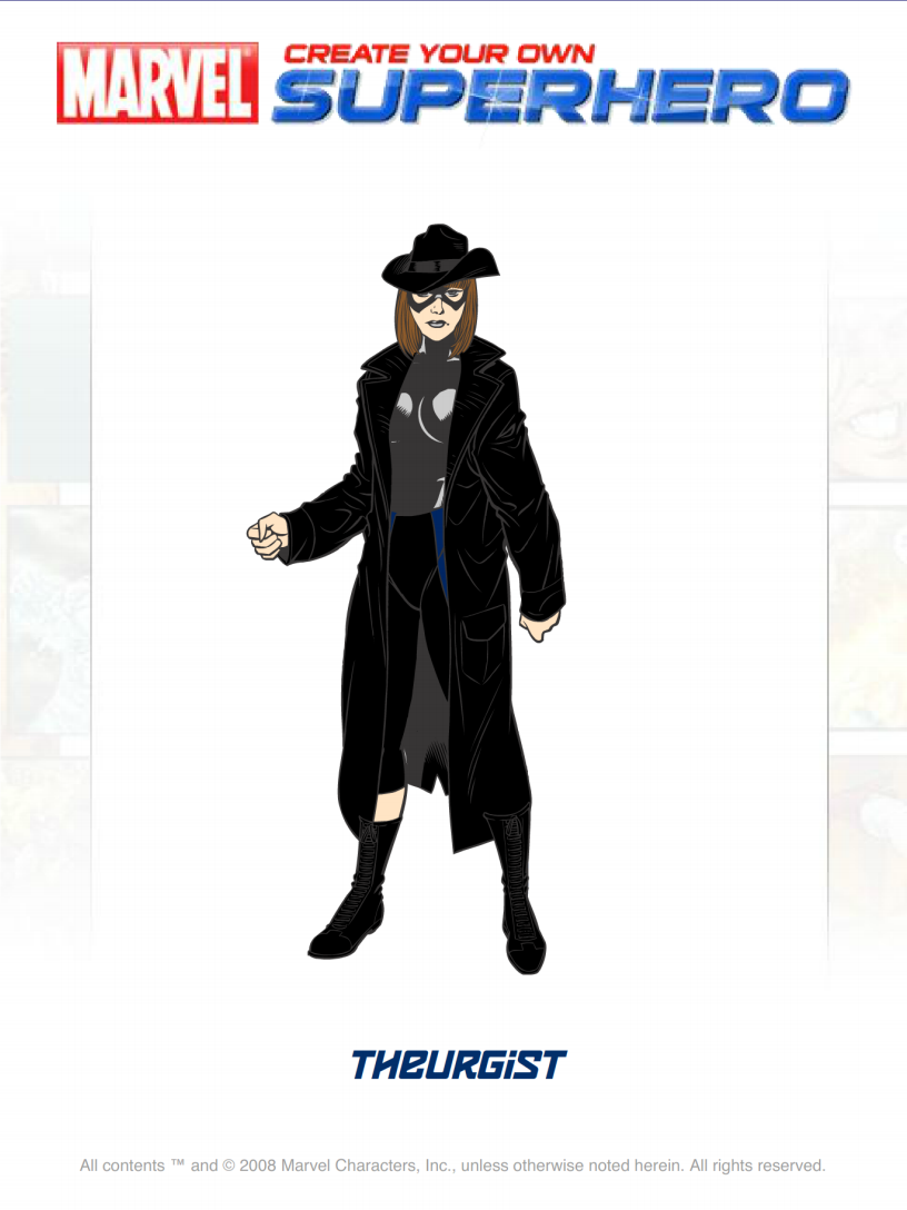 Avatar Theurgist Superhero