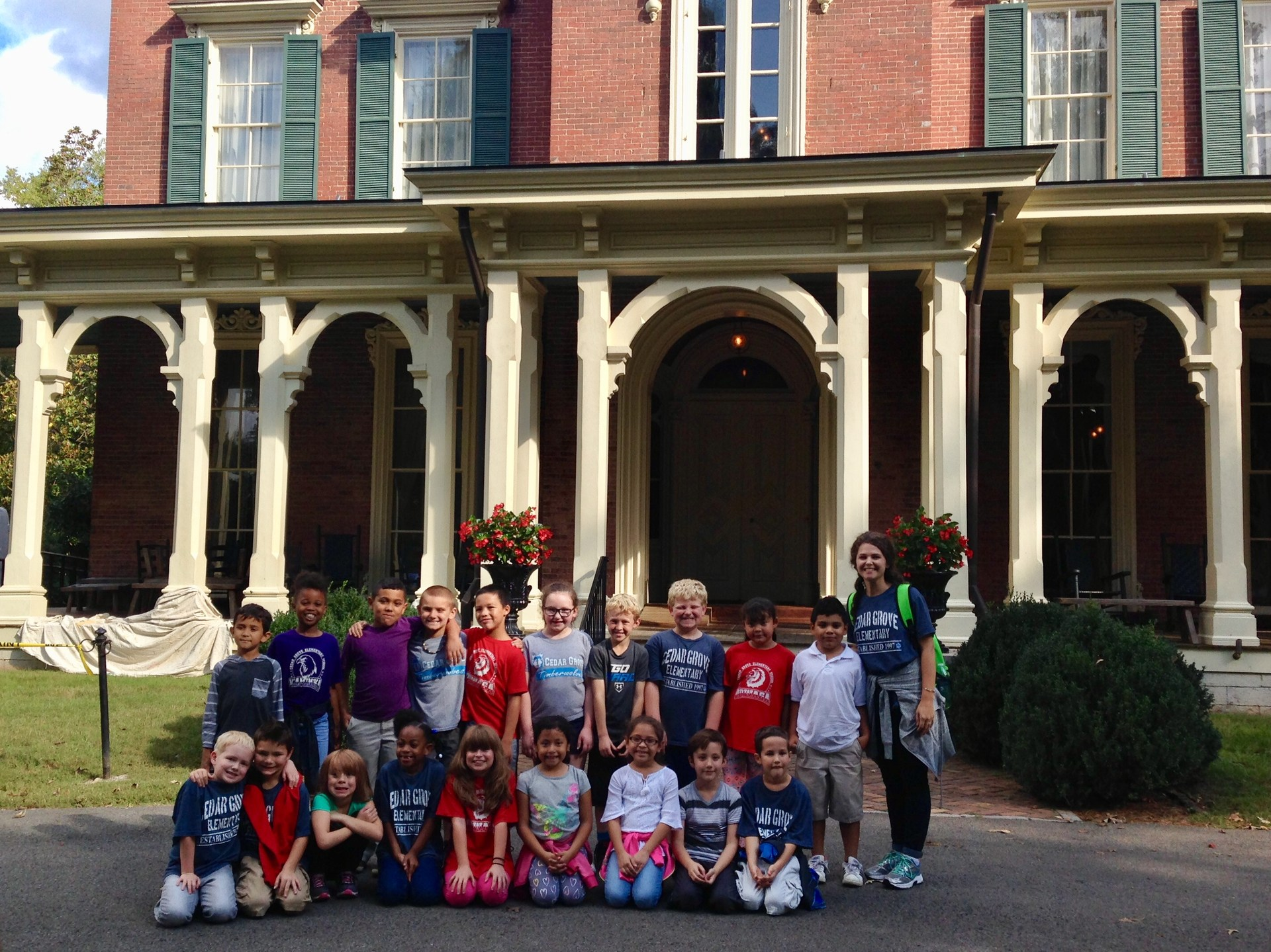 Field Trip to Oakland's Mansion