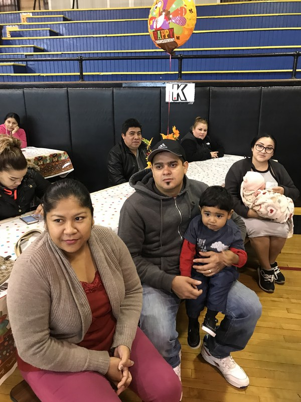 parents listening attentively to guest speaker