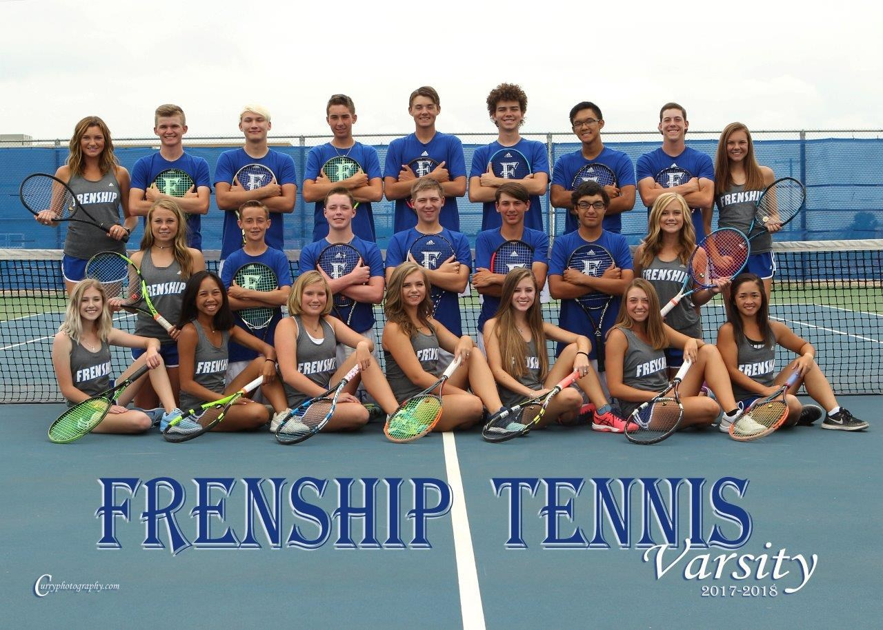 Frenship Tiger Tennis Team 2017