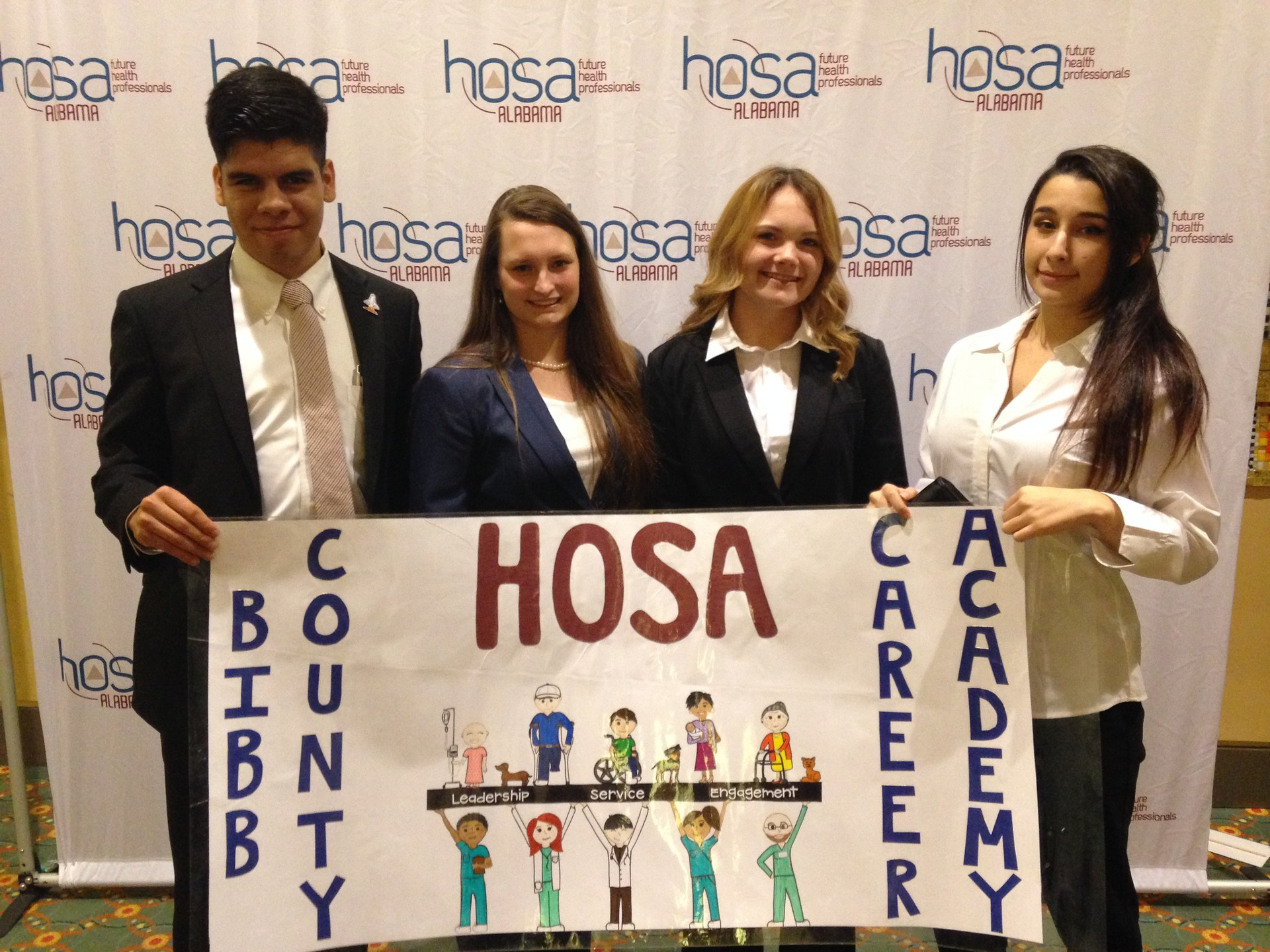HOSA at Competition