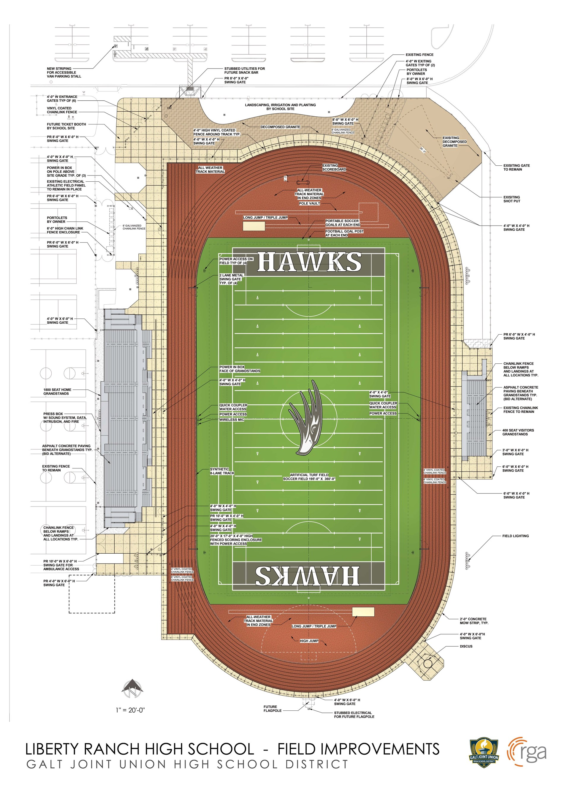 LRHS Field Improvement Rendering