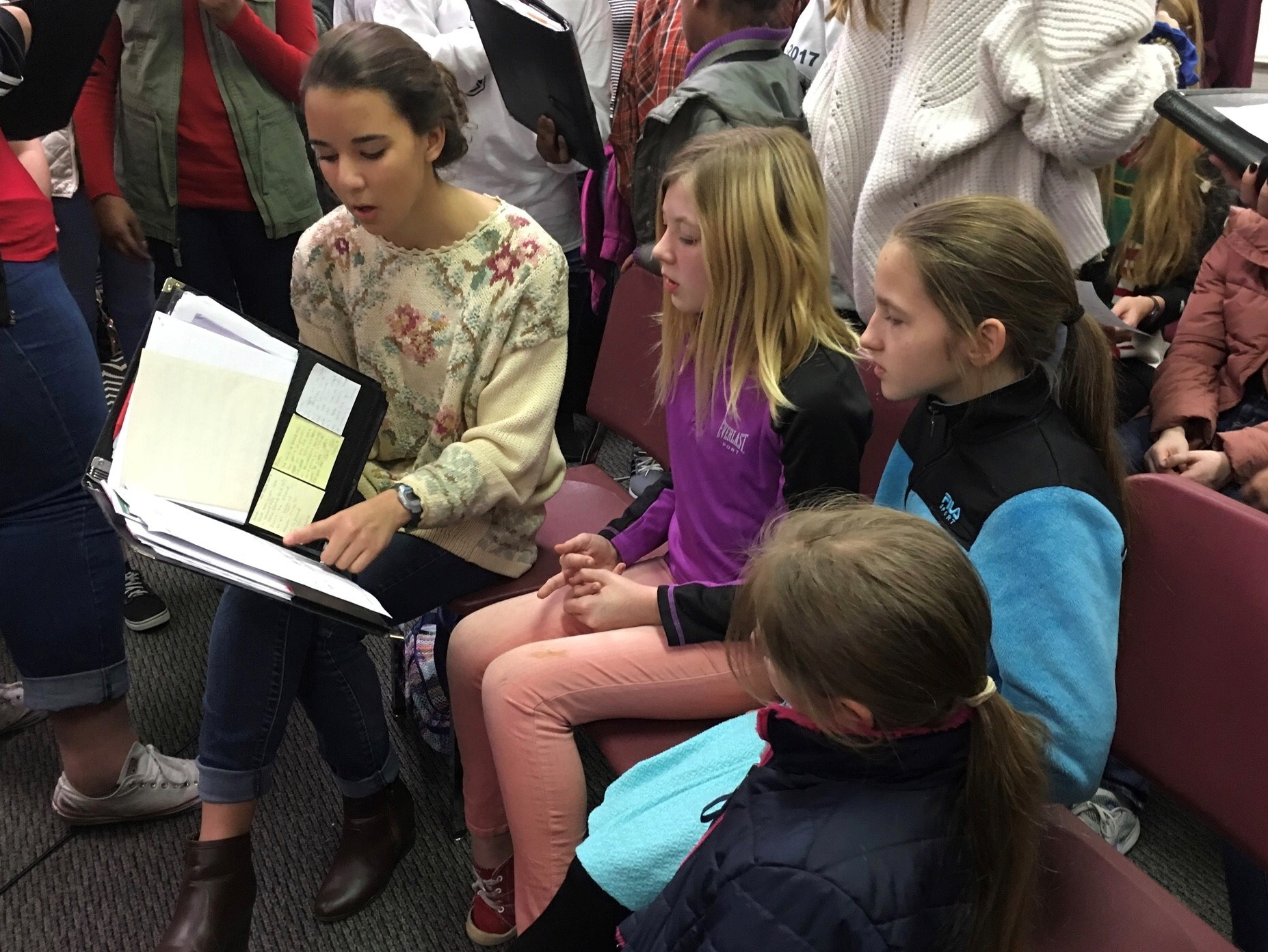 Peer Rehearsal - DHS/FMS
