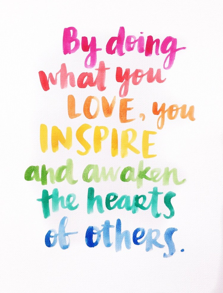 quote 'what makes love inspire and awaken the hearts