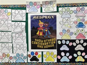 Baldwin Park Unified's Holland Middle School established behavior statements to help students obtain academic and personal success: be prepared, act responsibly, respect others and keep safe. Holland's implementation of behavioral expectations and the use of positive reinforcement earned them silver recognition from the California Positive Behavioral Interventions and Supports (PBIS) Coalition.