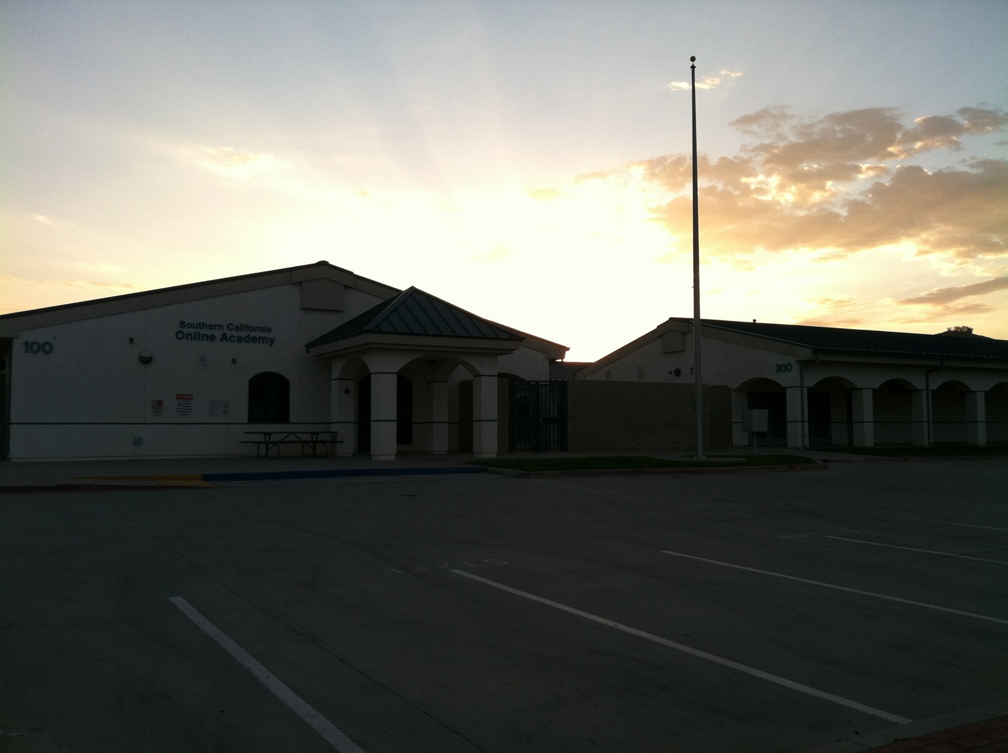 Sunset At KMA