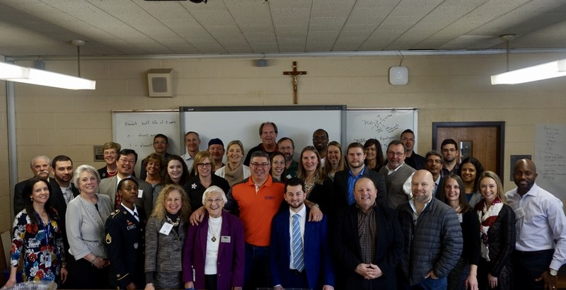Union Catholic celebrated Career Day with very informative and inspiring panel presentations Thumbnail Image