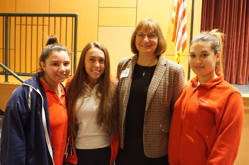 Mother Jane Clementi Shares Tyler's Story with Secaucus High School Students on Day of Respect Thumbnail Image
