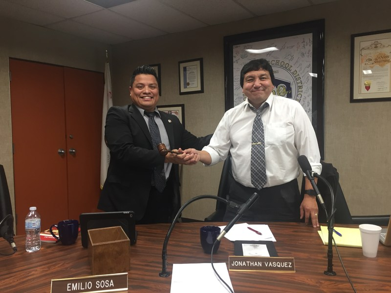 Los Nietos School Board Elects Emilio Sosa as New Board President for 2018 on December 13, 2017 Featured Photo