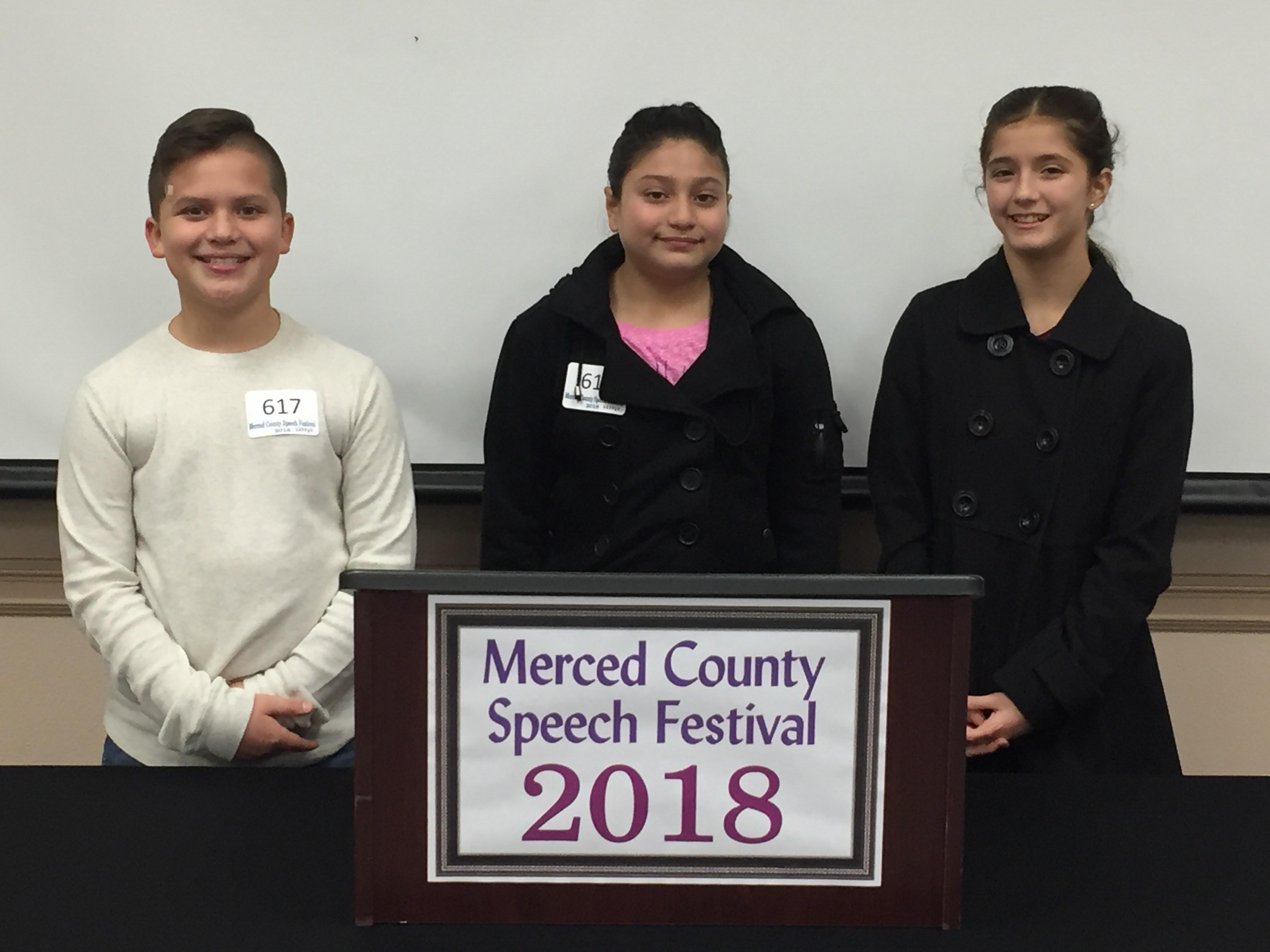 Speech Festival Participants