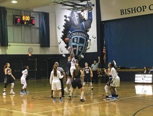 Girls BB Tip-Off