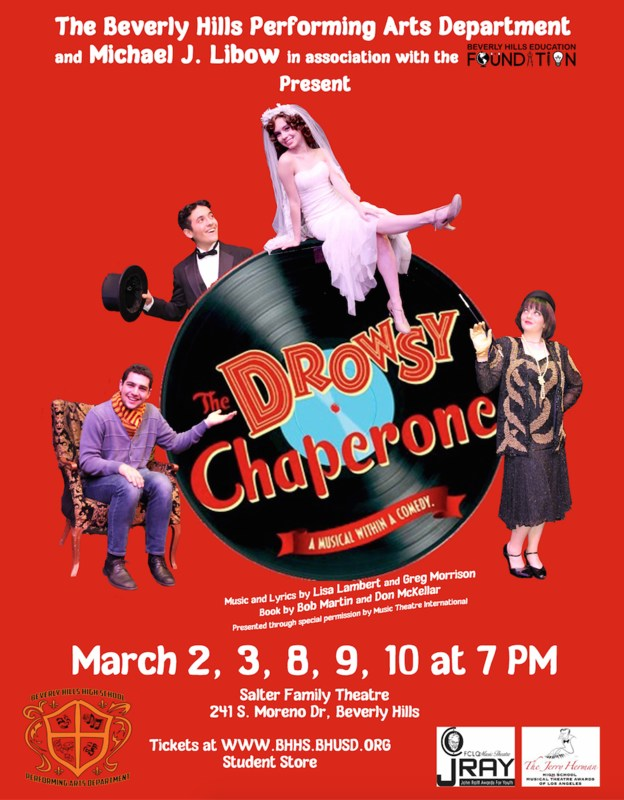 BHHS Performing Arts Department Presents: The Drowsy Chaperone Thumbnail Image