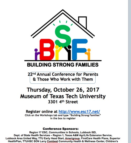 Building Strong Families Conference!