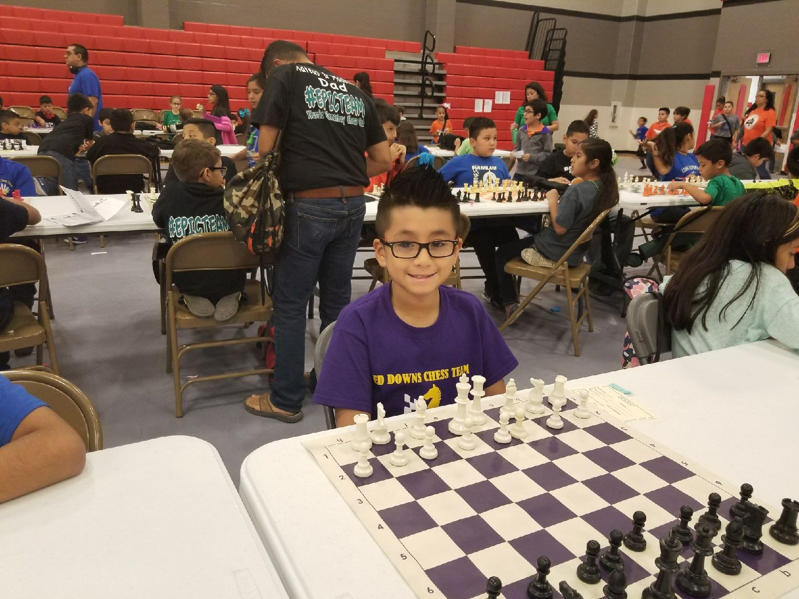 Daniel Chapa ~ 4th Grade Chess Team member