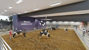 Show arena in new Agricultural Science Center