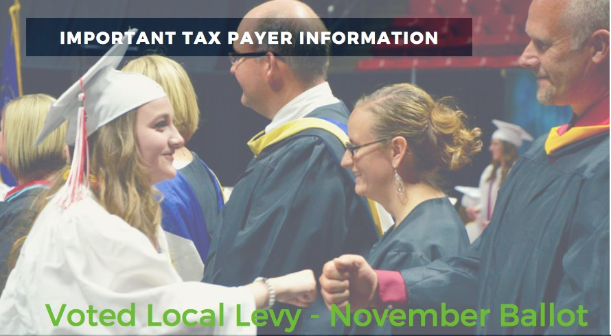 Voted Local Levy tax payer information
