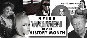 Page header: NYISE's Women in Our History Month