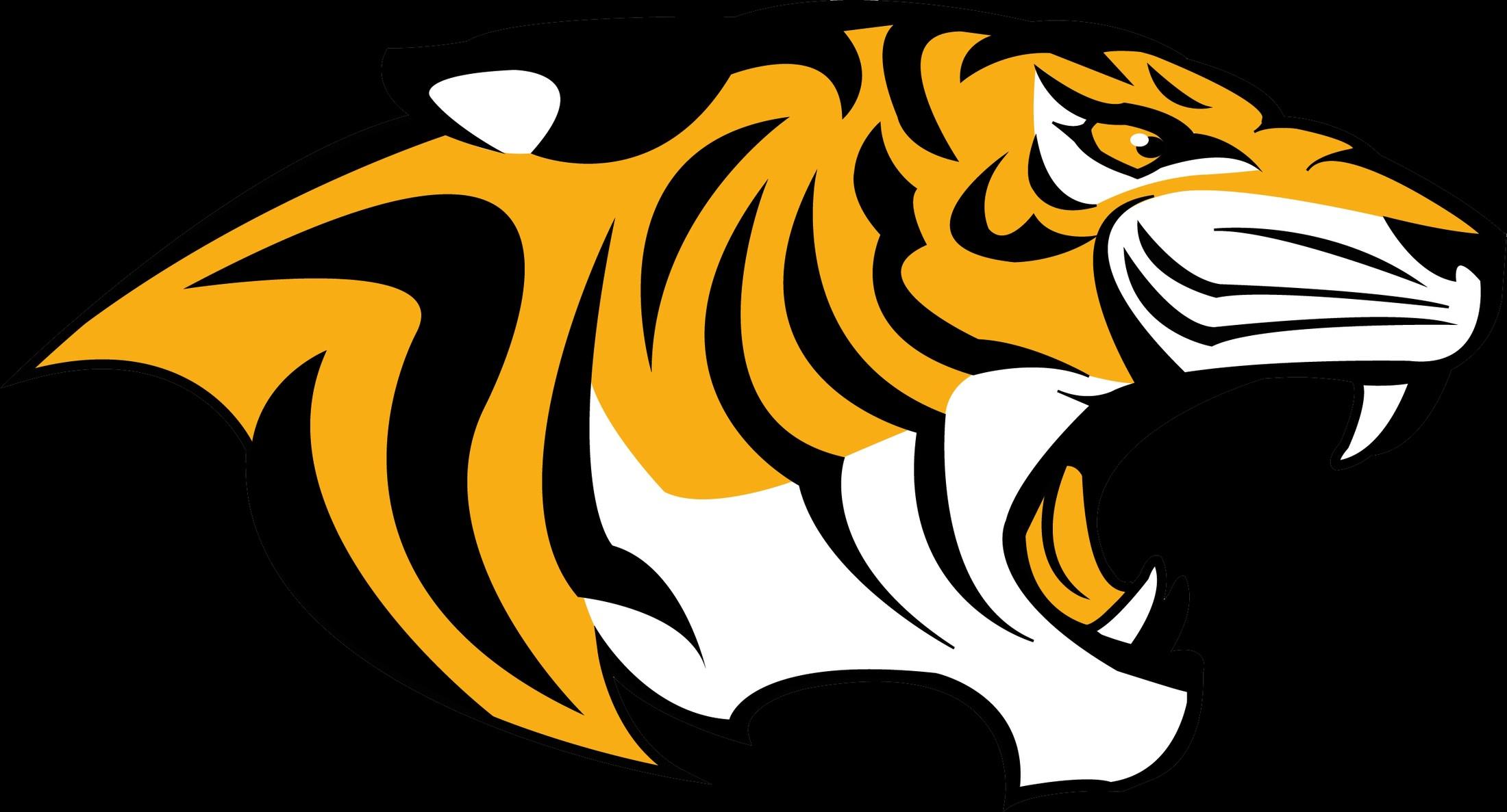 tiger head logo - HD2608×1407