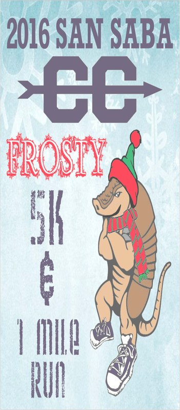 Frosty 5k and 1 Mile Run