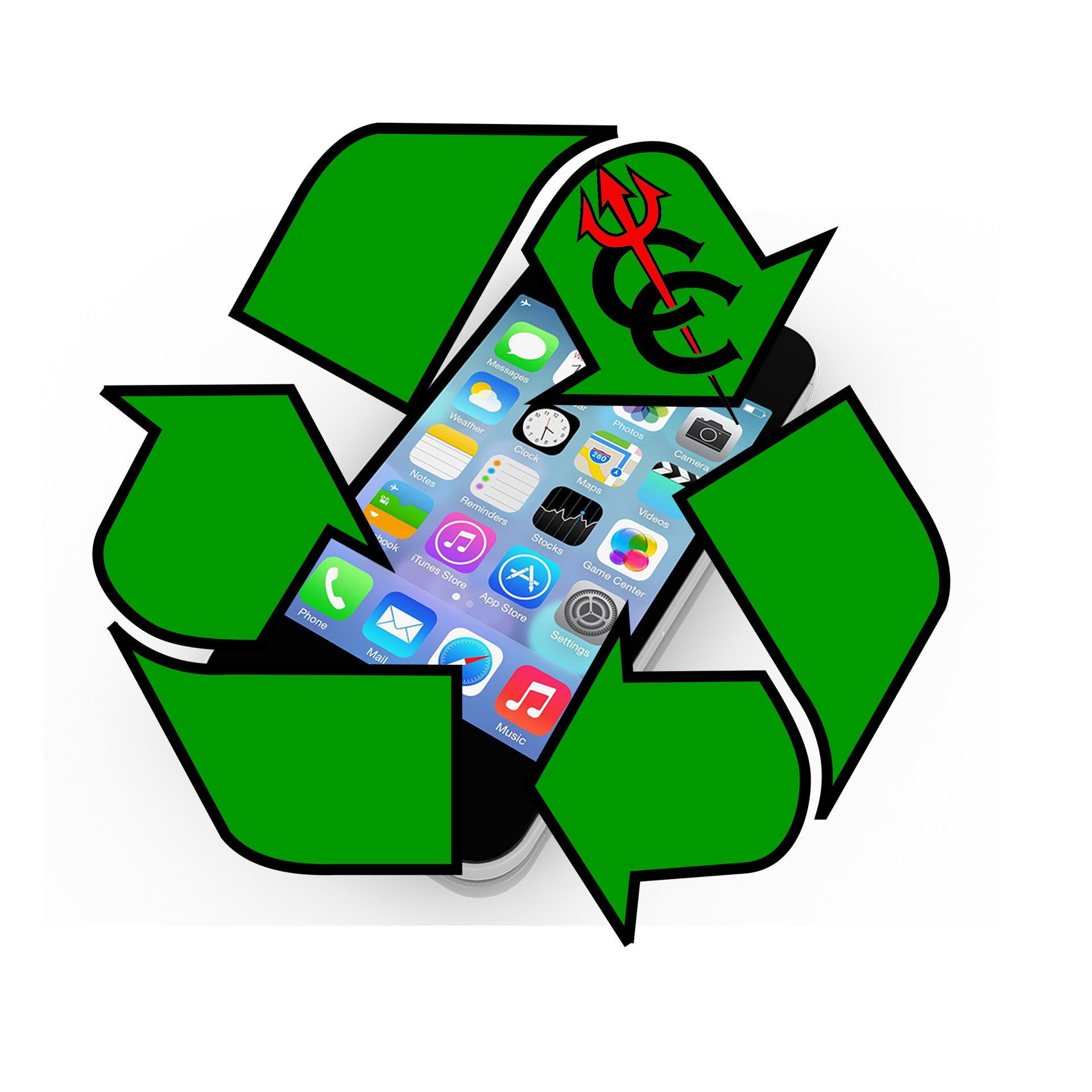 cc recycle logo