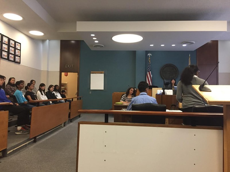 Debate and Dialogue Class Presents Mock Trail at Superior Court Thumbnail Image